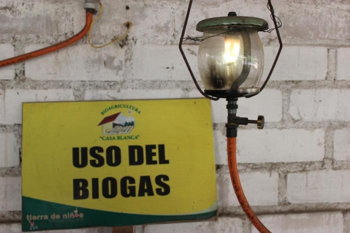 biogas for light sm