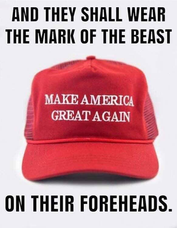 make us great agan sign of beast